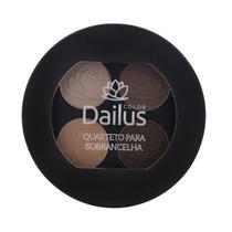 Quarteto De Sobrancelhas Dailus! Kit Completo Maquiagem.