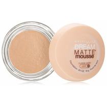 Base Maybelline Dream Matte Mousse - Light 2 Classic Ivory