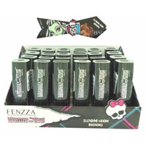 Batom Neon Shining Display Com 24 Monster High Fenzza Bd2346