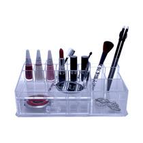 Organizador Porta Maquiagem Pincel Batom Acrilico Grande !!!