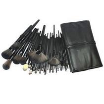 Pincel Para Maquiagem,kit+bolsa 32 Pçs.frete Gratis!!