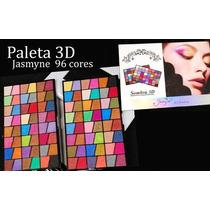Kit Maquiagem Paleta Sombras 96 Cores 3d Jasmyne