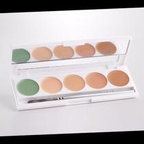 Kryolan Dermacolor Maquiagem Profissional 6 Itens Com Pincel