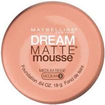 Base Maybelline Dream Matte Mousse Medium Beige 3. No Brasil