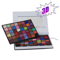 Kit 3d De Maquiagem Com 96 Sombras
