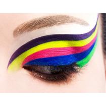 Tinta Fluor Para Maquiagens Artísticas 5 Cores