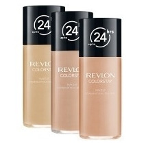 Base Revlon Colorstay Foundation 24 Hrs Pele Normais A Seca