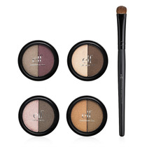 Kit 4 Duos De Sombras 8 Cores Everyday E.l.f Com Pincel