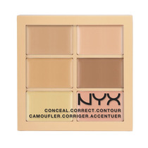 Nyx Paleta Profissional Conceal Correct Contour 3cp01 Light