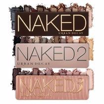 Estojo Maquiagem Paleta De Sombras Naked 1 2 3 Urban Decay