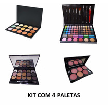 Kit Paleta De Corretivo,sombras,blush,pronta Entrega!