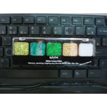 Sombra Glitter Cream Pallet Nyx (fresh Greens)