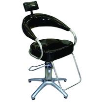Cadeira Móveis Para Salão De Cabelereiro Com Hidraulico Luxo