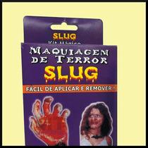 Kit Maquiagem Slug Halloween Festas Fantasias Teatro Terror