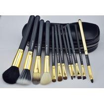 Kit Pincel 12 Unds. Similar Mac - Vem Com A Bolsinha