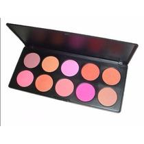 Paleta Blush 10 Cores Importada Estojo Maquiagem #8rfn