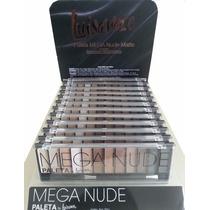 Kit Sombra Paleta Mega Nude Luisance 12 Cores Maquiagem
