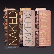 Kit Paletas Urban Decay - Naked 1, 2 E 3 - Pronta Entrega