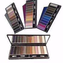 Kit 3 Paletas Maquiagem Jasmyne Profissional Sombra Luisance