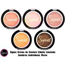 Sigma Creme De Couture Individual Sombras Matte + Brinde