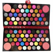 Paleta De Maquiagem 3d Macrilan Com 84 Sombras E 4 Blush