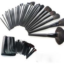 Kit Profissional 32 Pinceis Maquiagem Makeup Pronta Entrega
