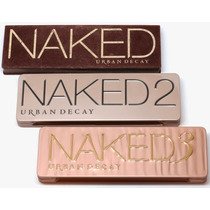 Kit Paletas Urban Decay - Naked 1, Naked 2 E Naked 3