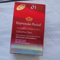 Henna De Sobrancelhas Expressao Facial 2,5gr Castanho Claro