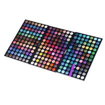 Paletas De Sombras Matte E Shimmer 252 Cores Importada