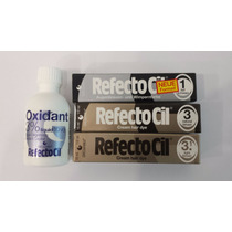 Kit Refectocil 3 Tinturas + 1 Oxidante