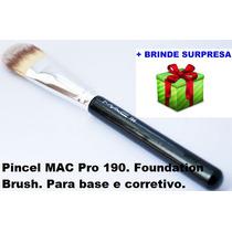 Pincel Mac 190-corretivo E Base.190 Foundation Brush P. Entr