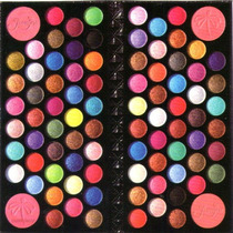 Maquiagem 3d Jasmyne Carteira Com 84 Sombras E 04 Blushes