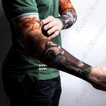 72 Tattoo Sleeves- Manga De Tatuagem - Tatto Falsa - Atacado