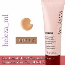 Base Líquida Timewise Mary Kay Acabamento Matte Beige 5