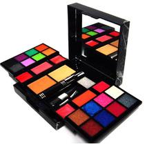 Estojo De Maquiagem Com 16 Cores De Sombras 3d - Macrilan