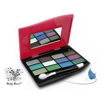 Estojo Kit De 12 Sombras Glamour - Ruby Rose