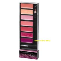 Paleta Maquiagem Lip Gloss Brilhos Labiais Beauty Kiss