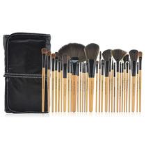 Kit Com 32 Pincéis Maquiagem Profissional Makeup For You