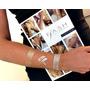 Flash Tattoos Kit 5 Cartelas Tatuagem Metalica