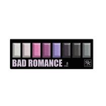 Ruby By Kiss Ny Paleta De Sombra Bad Romance 8 Cores