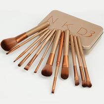 Kit Pincéis De Maquiagem Sigma Nk3 Naked 12 Peças
