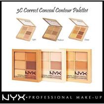 Paleta Corretivo Nyx Correct Contour Light/medium Original