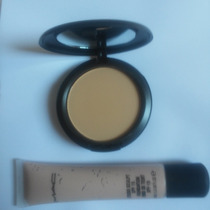 Base Studio Sculpt Spf E Pó Compacto Mac Studio Fix Powder