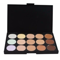 Paleta Base Corretivo 15 Cores Kit Maquiagem Pronta Entrega