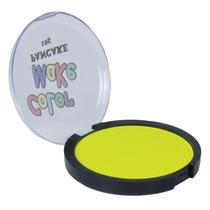 Pancake Neon Fluorescente Amarelo 10g Brilha Luz Negra Yur