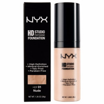 Base Líquida Hd Studio Photogenic Foundation - Nyx
