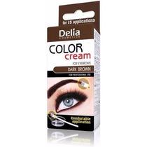 Tinta Delia Cílios E Sombrancelhas Tintura Marrom Escuro
