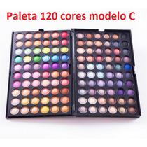 Paleta 120 Cores - Modelo C - Frete Único 10,00
