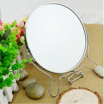 Espelho De Mesa/bancada 6 Pol Maquiagem - Dupla Face Aumento