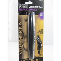 Rimel Loreal Voluminous Power 24h Black Smoke Original
